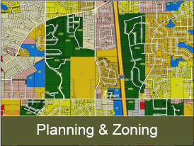 Oakdale zoning map
