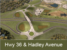 Highway 36 and Hadley Avenue Interchange