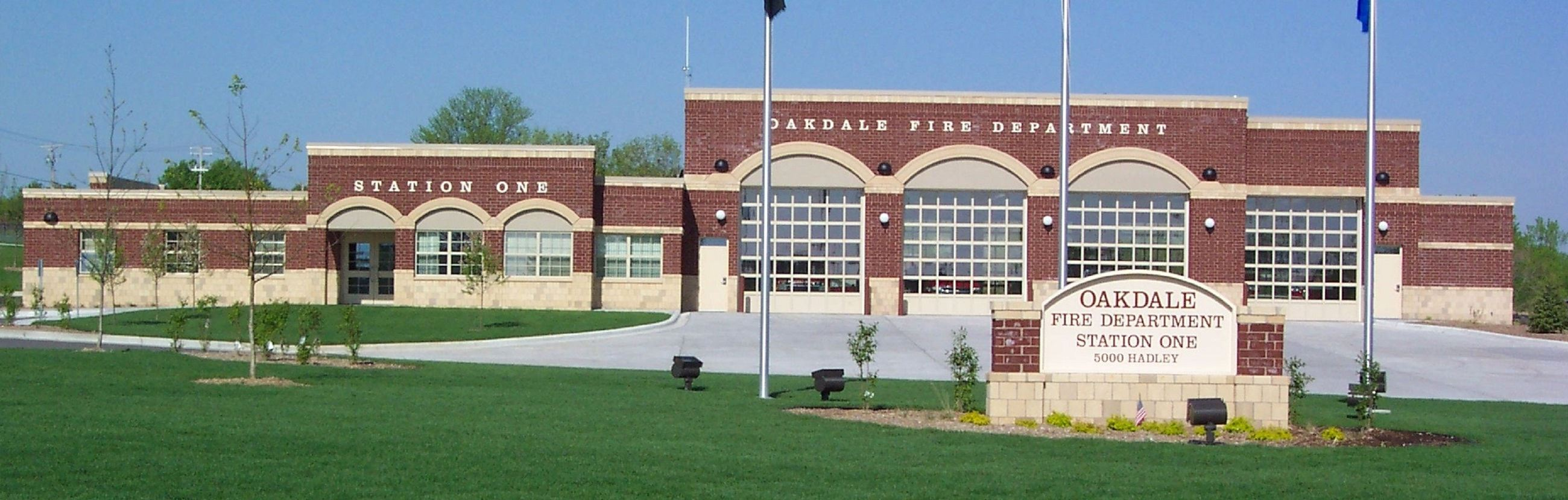 Oakdale Fire Station Headquarters located at 5000 Hadley Avenue