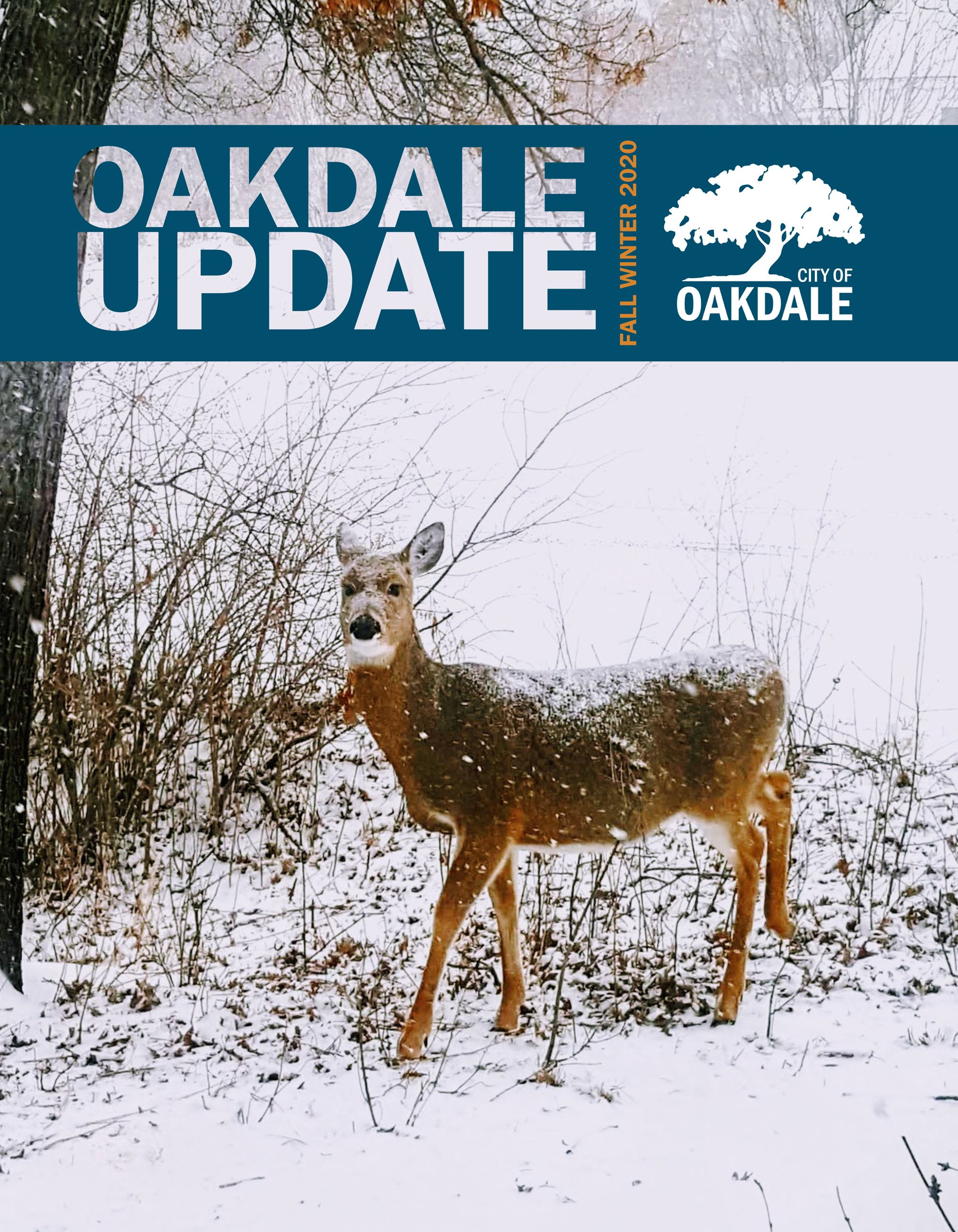 Oakdale Update Fall-Winter 2020 Cover